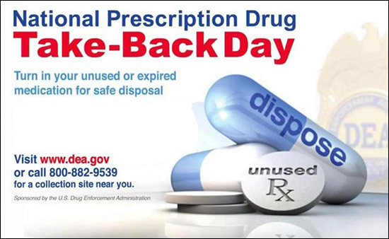 Image result for prescription drug take back