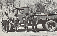 The Service Department in 1932