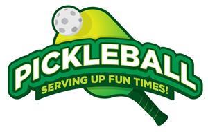 pickleball racket and ball