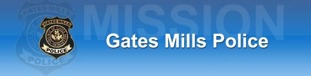 Mission Statement of the Gates Mills Police Department